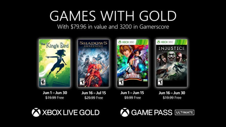Games With Gold - June 2021